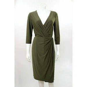 RALPH LAUREN OLIVE GREEN DRESS